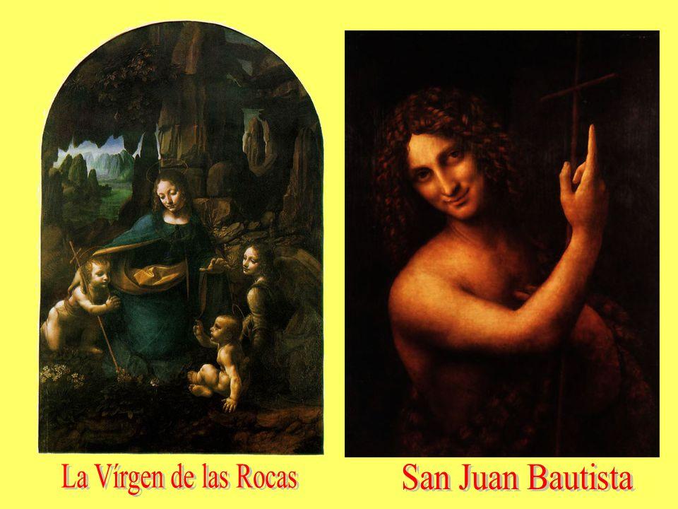 La Vírgen de las Rocas San Juan Bautista
