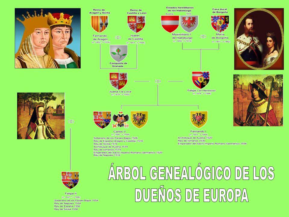 ÁRBOL GENEALÓGICO DE LOS