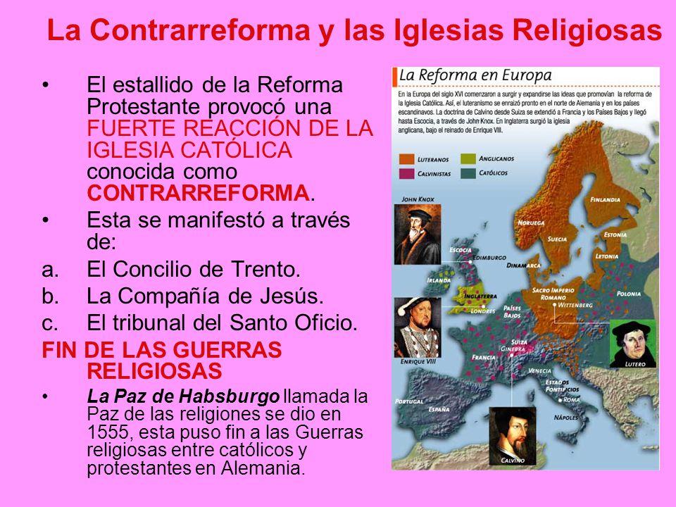 La Contrarreforma y las Iglesias Religiosas