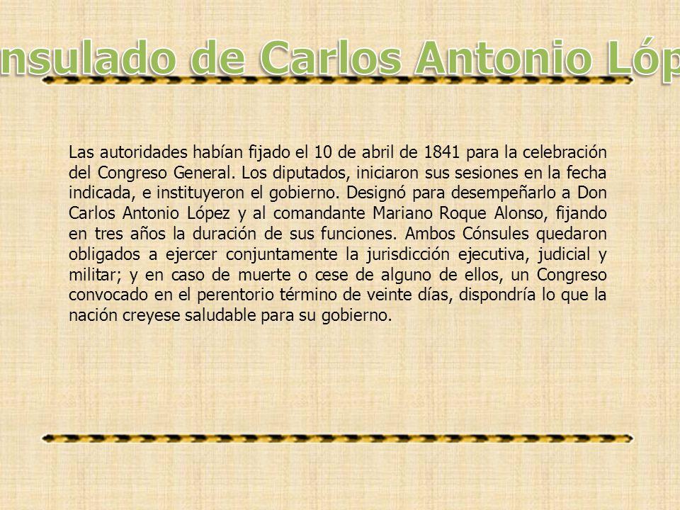 Consulado de Carlos Antonio López