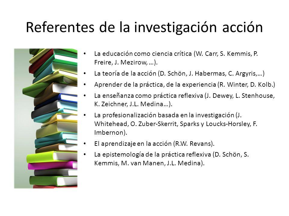 Referentes de la investigación acción