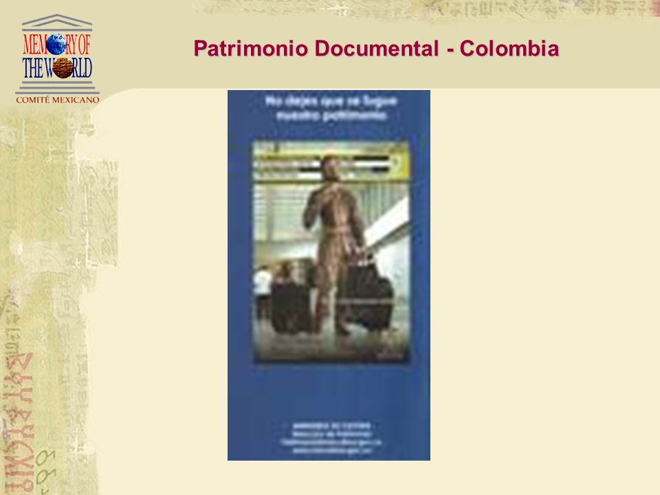 Patrimonio Documental - Colombia