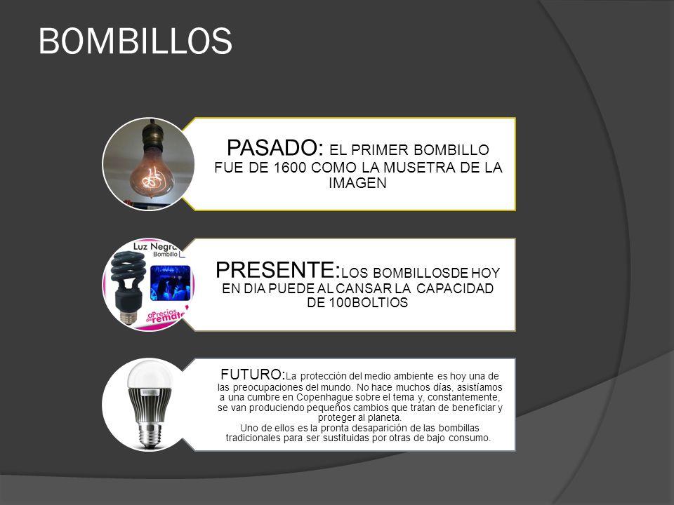 PASADO: EL PRIMER BOMBILLO FUE DE 1600 COMO LA MUSETRA DE LA IMAGEN