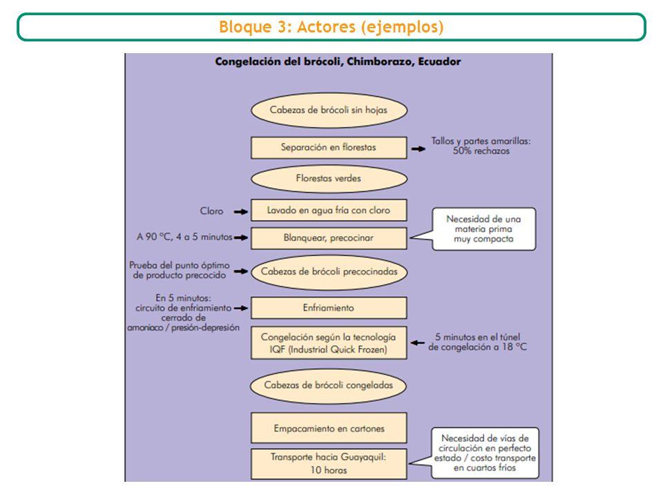 Bloque 3: Actores (ejemplos)
