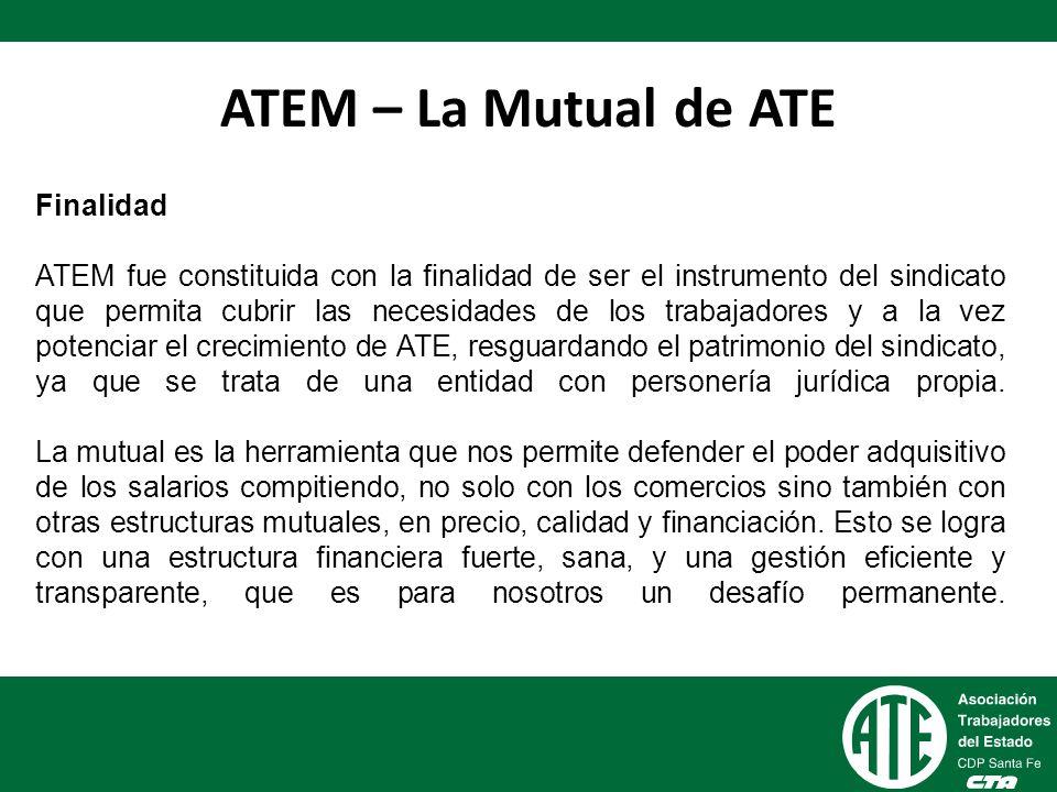 ATEM – La Mutual de ATE Finalidad