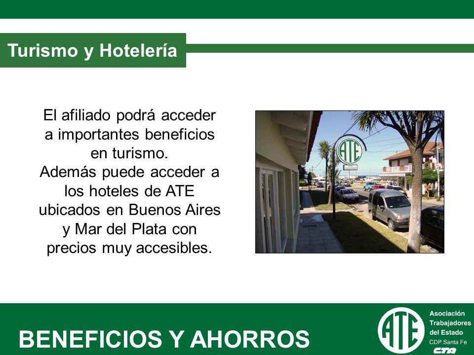 BENEFICIOS Y AHORROS Turismo y Hotelería