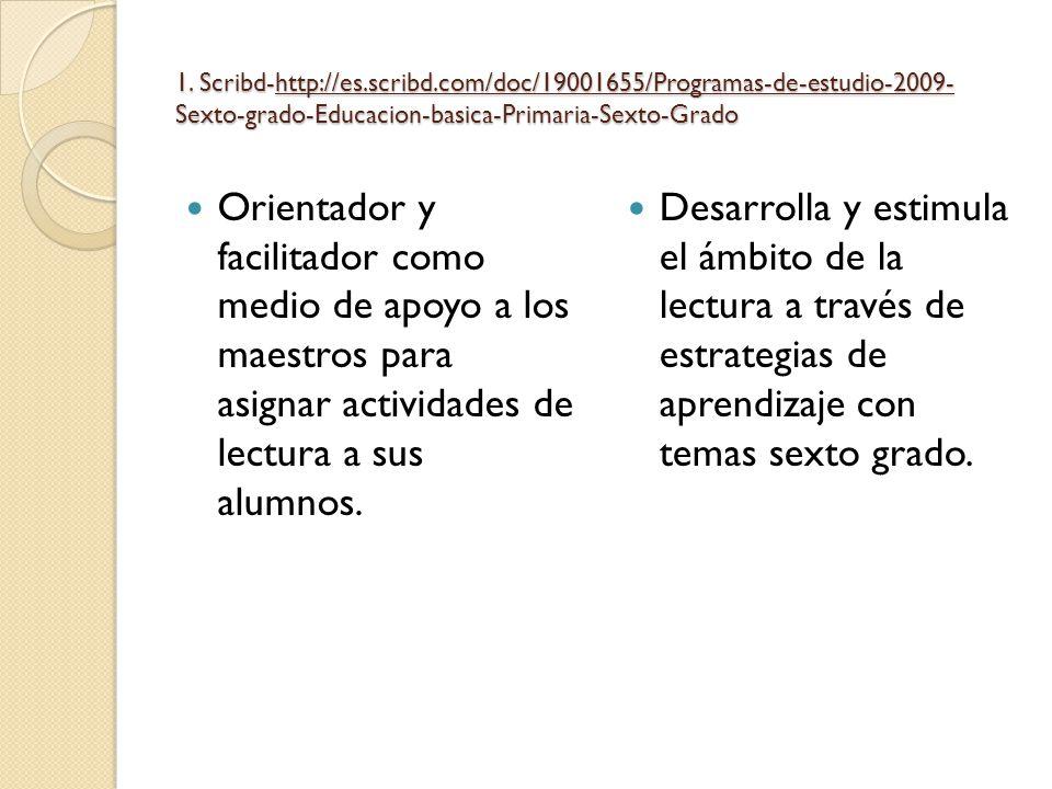 1. Scribd-http://es. scribd