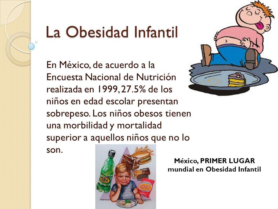México, PRIMER LUGAR mundial en Obesidad Infantil