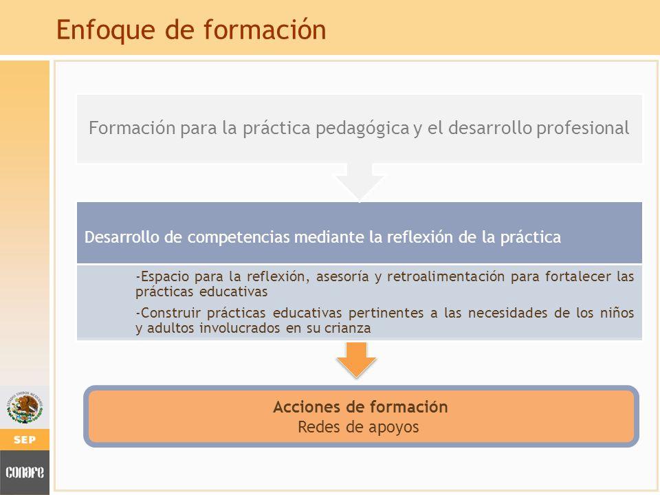 Formación para la práctica pedagógica y el desarrollo profesional