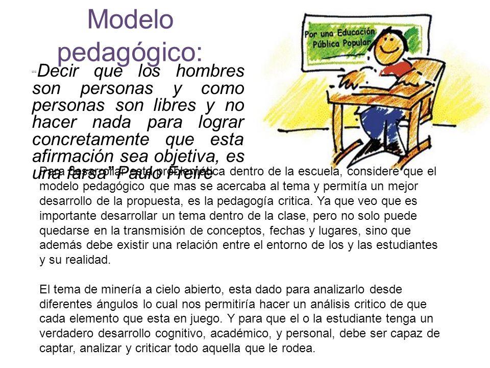 Modelo pedagógico: