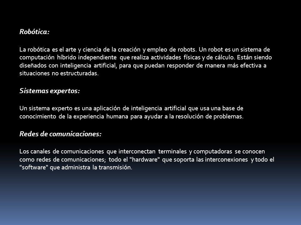 Redes de comunicaciones: