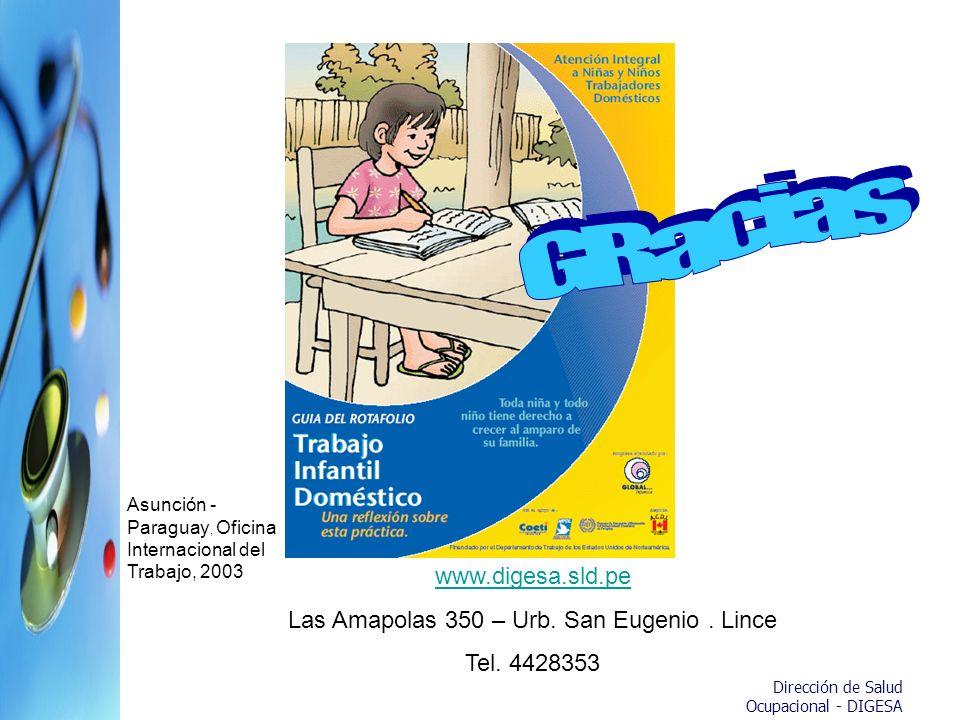 Las Amapolas 350 – Urb. San Eugenio . Lince