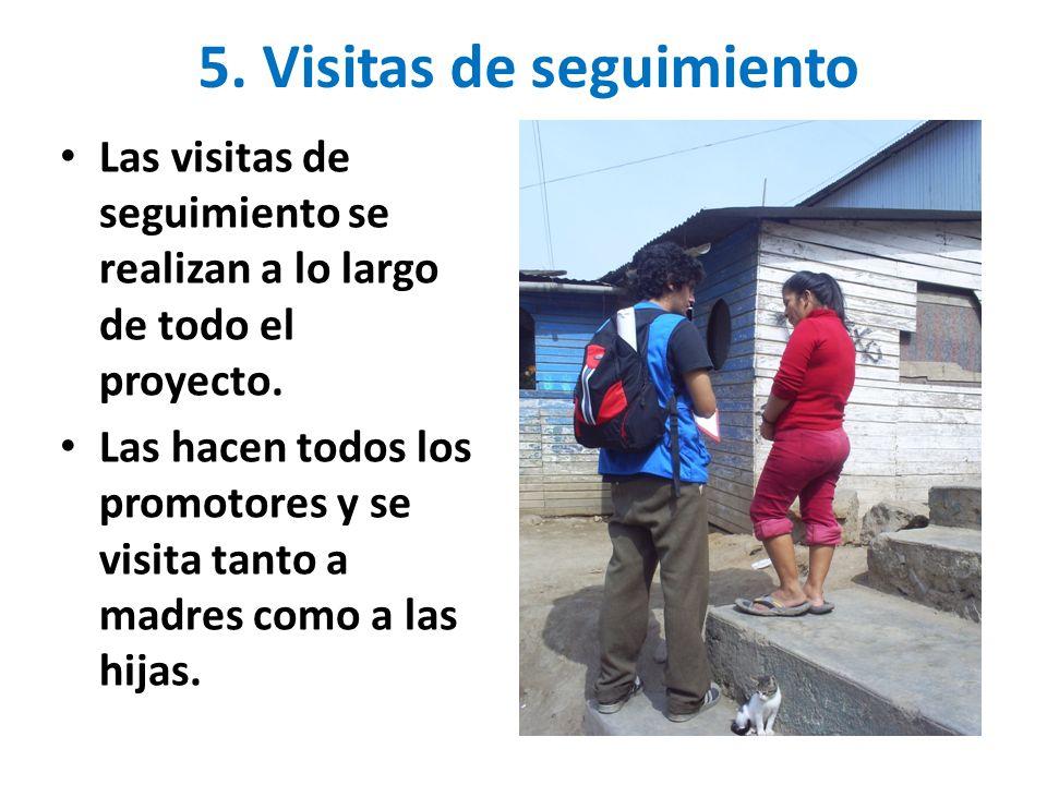 5. Visitas de seguimiento