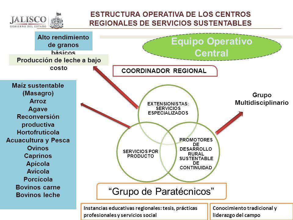 Equipo Operativo Central