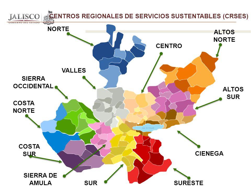 CENTROS REGIONALES DE SERVICIOS SUSTENTABLES (CRSES)
