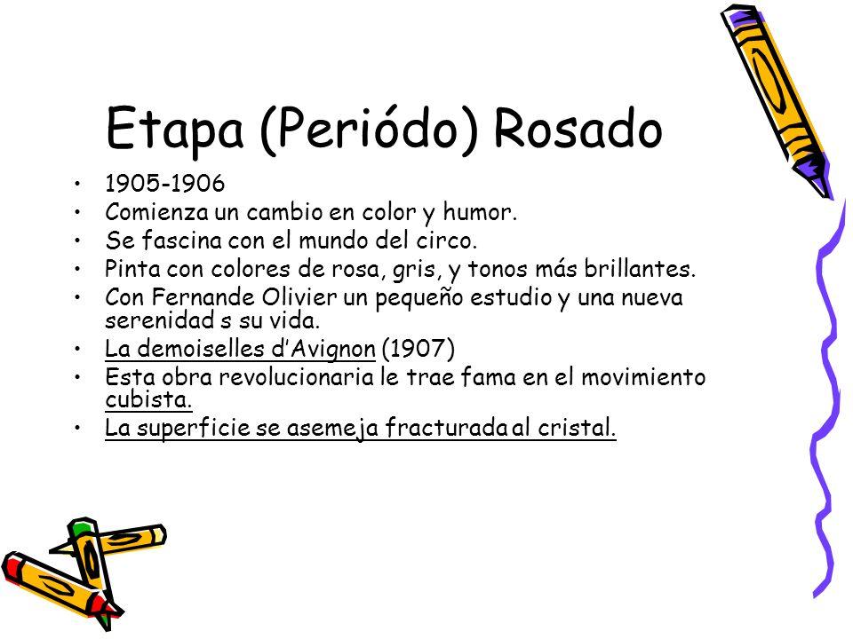 Etapa (Periódo) Rosado