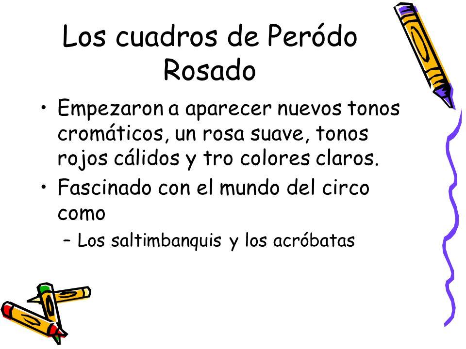 Los cuadros de Peródo Rosado