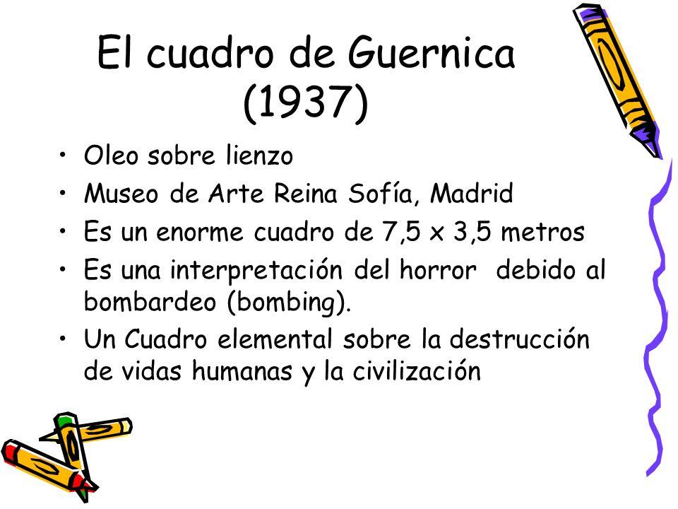 El cuadro de Guernica (1937)