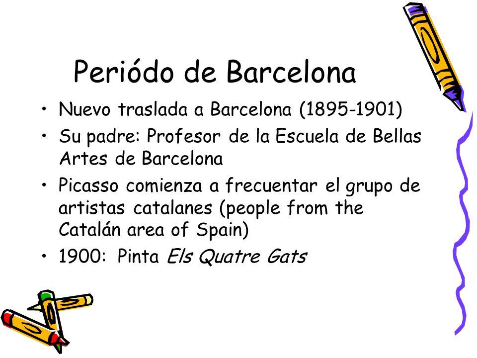 Periódo de Barcelona Nuevo traslada a Barcelona (1895-1901)