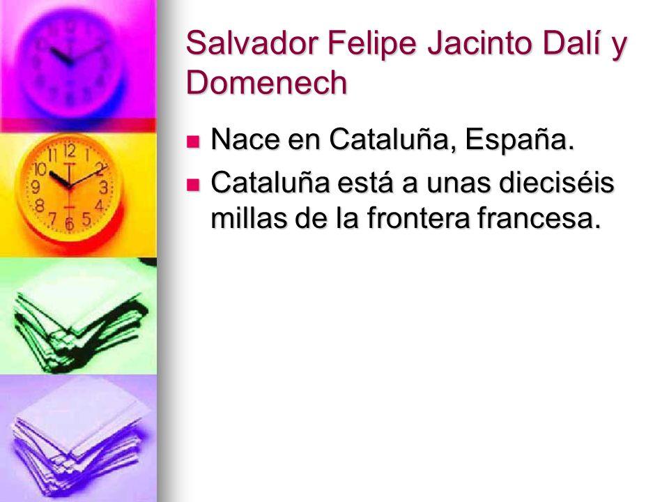Salvador Felipe Jacinto Dalí y Domenech