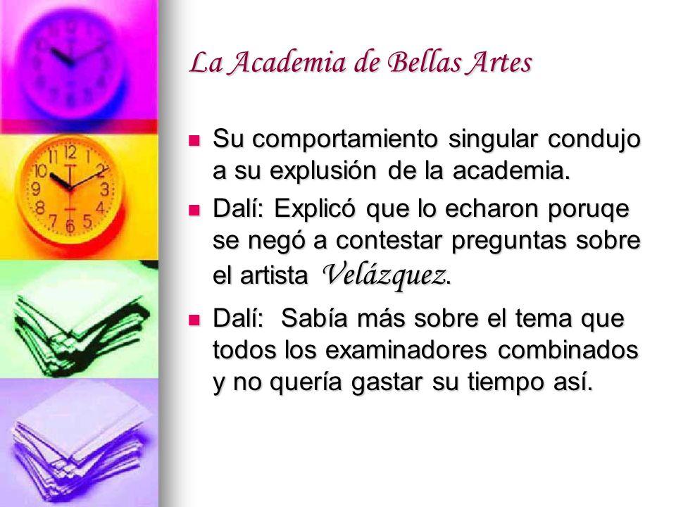 La Academia de Bellas Artes