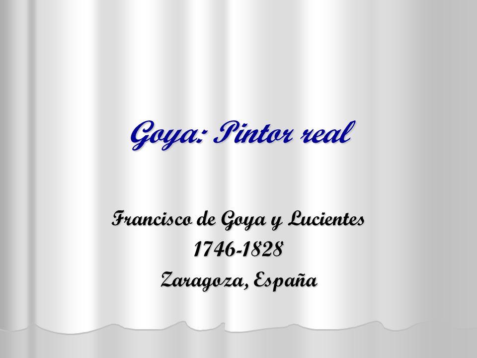 Francisco de Goya y Lucientes 1746-1828 Zaragoza, España