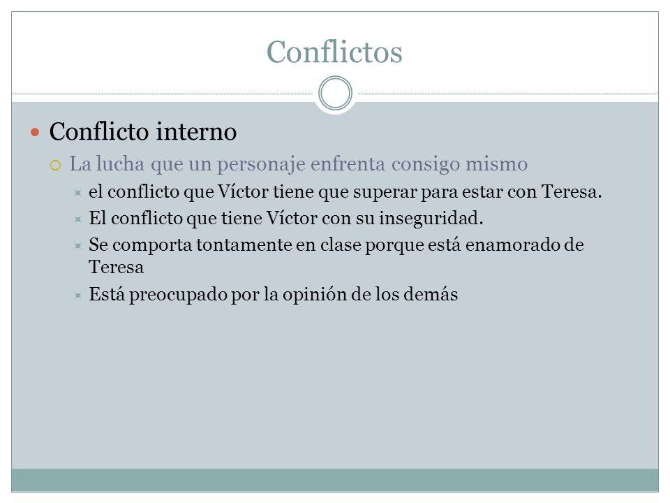 Conflictos Conflicto interno