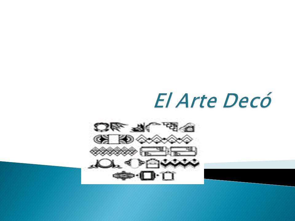 El Arte Decó