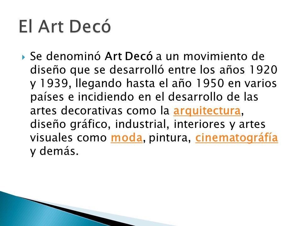El Art Decó