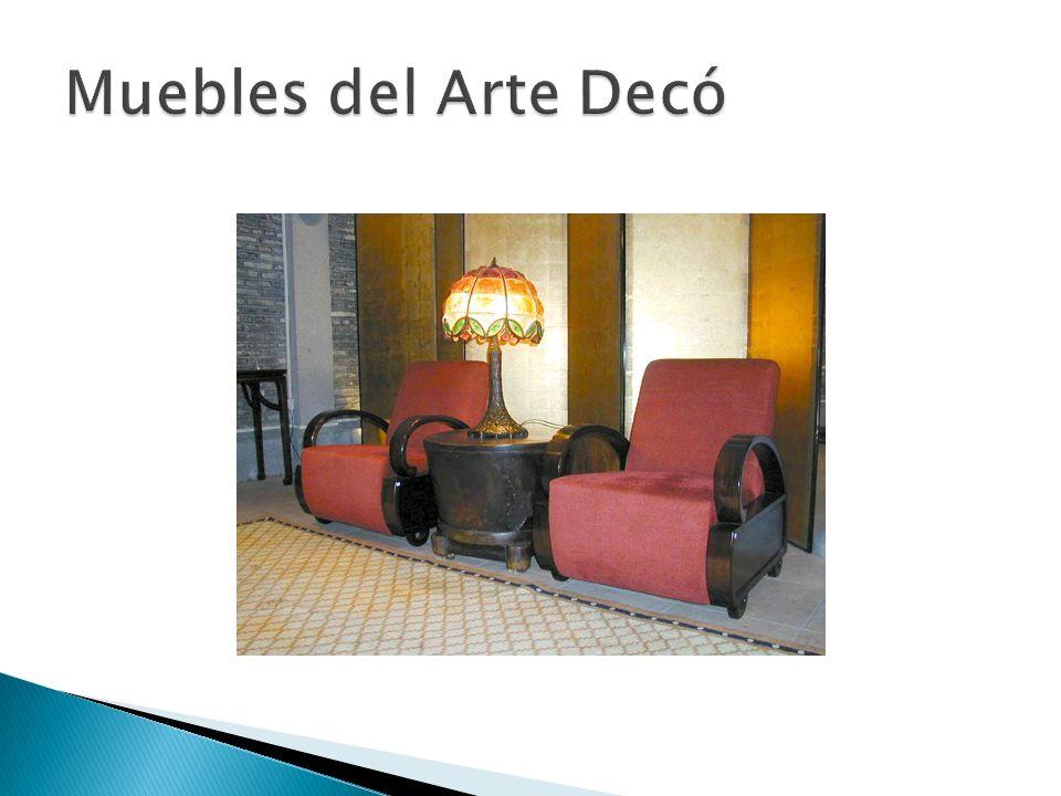 Muebles del Arte Decó
