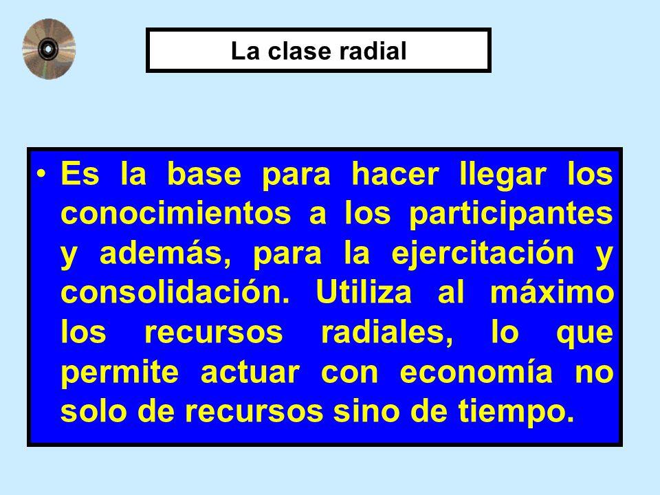 La clase radial