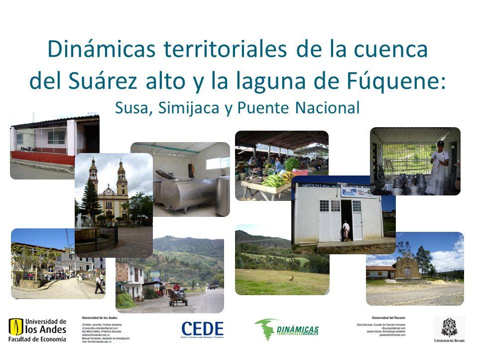 Dinámicas territoriales de la cuenca del Suárez alto y la laguna de Fúquene: Susa, Simijaca y Puente Nacional
