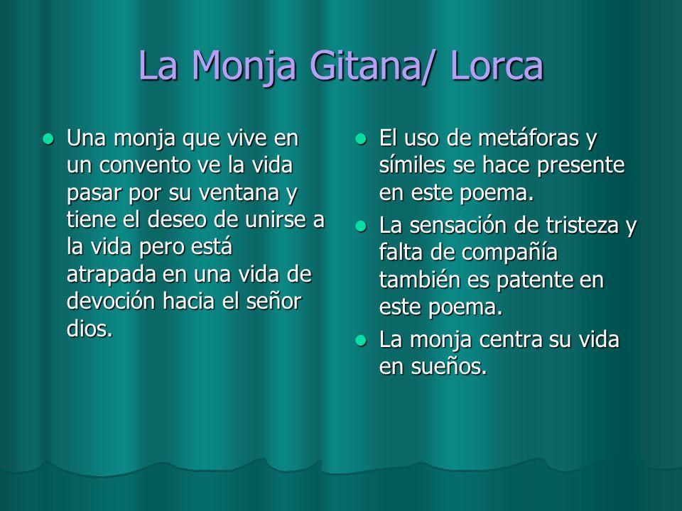 La Monja Gitana/ Lorca