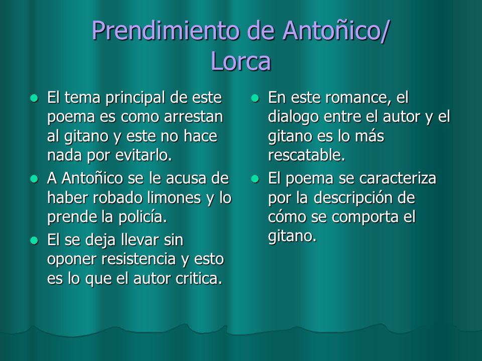 Prendimiento de Antoñico/ Lorca