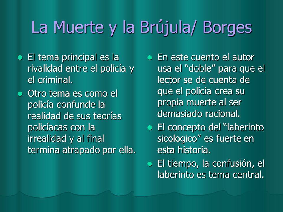 La Muerte y la Brújula/ Borges