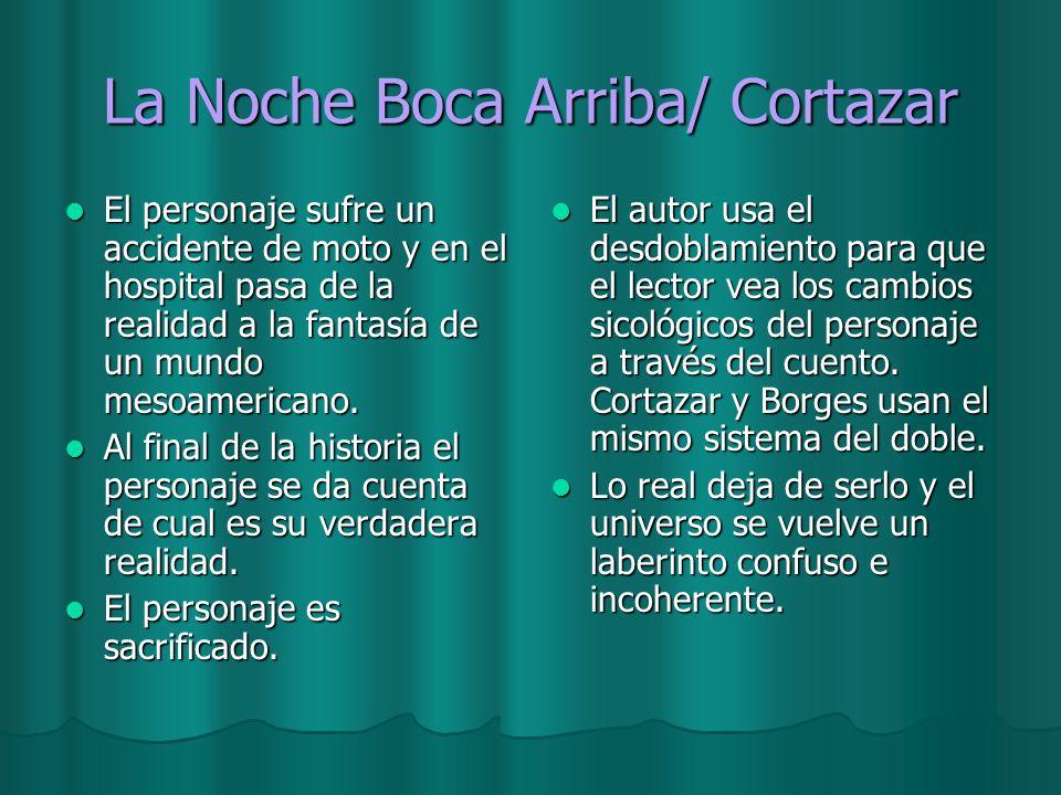 La Noche Boca Arriba/ Cortazar
