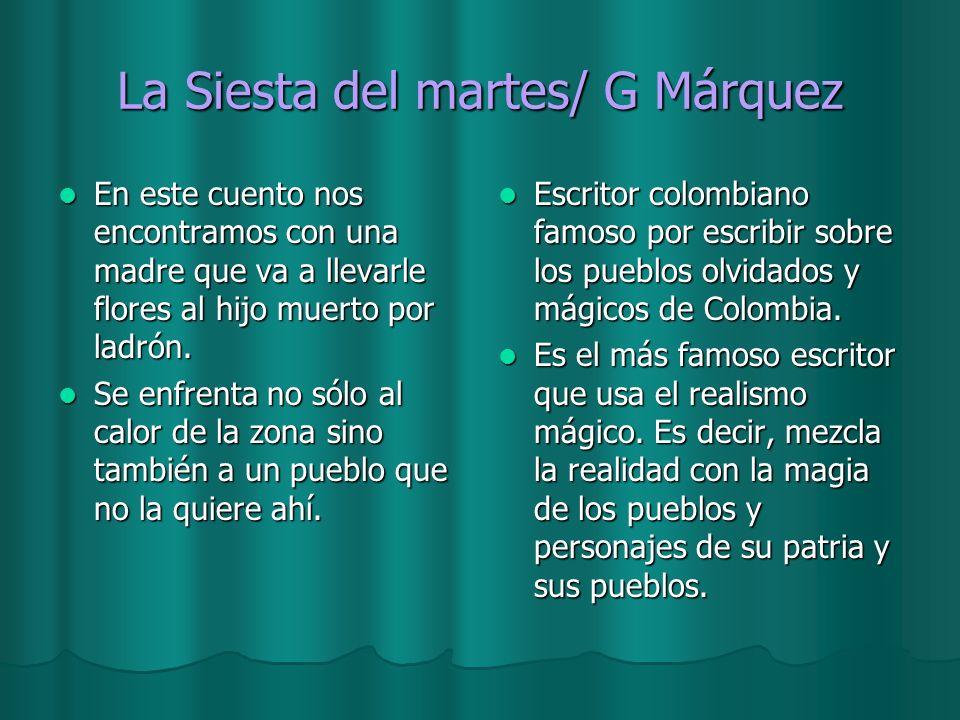La Siesta del martes/ G Márquez