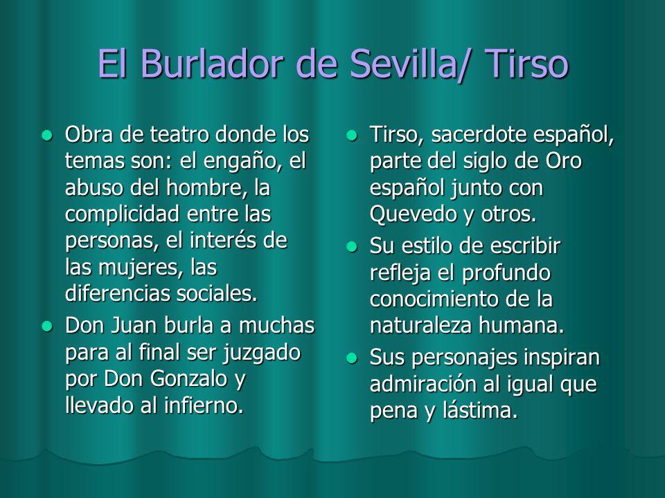 El Burlador de Sevilla/ Tirso