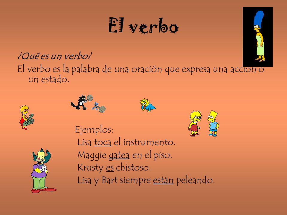 El verbo ¿Qué es un verbo