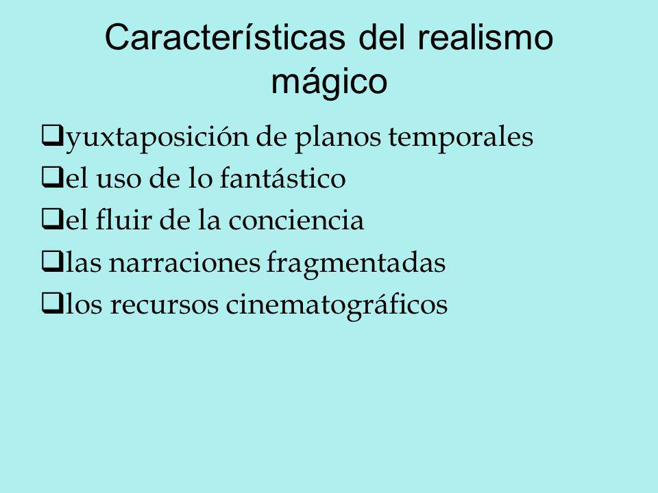 Características del realismo mágico