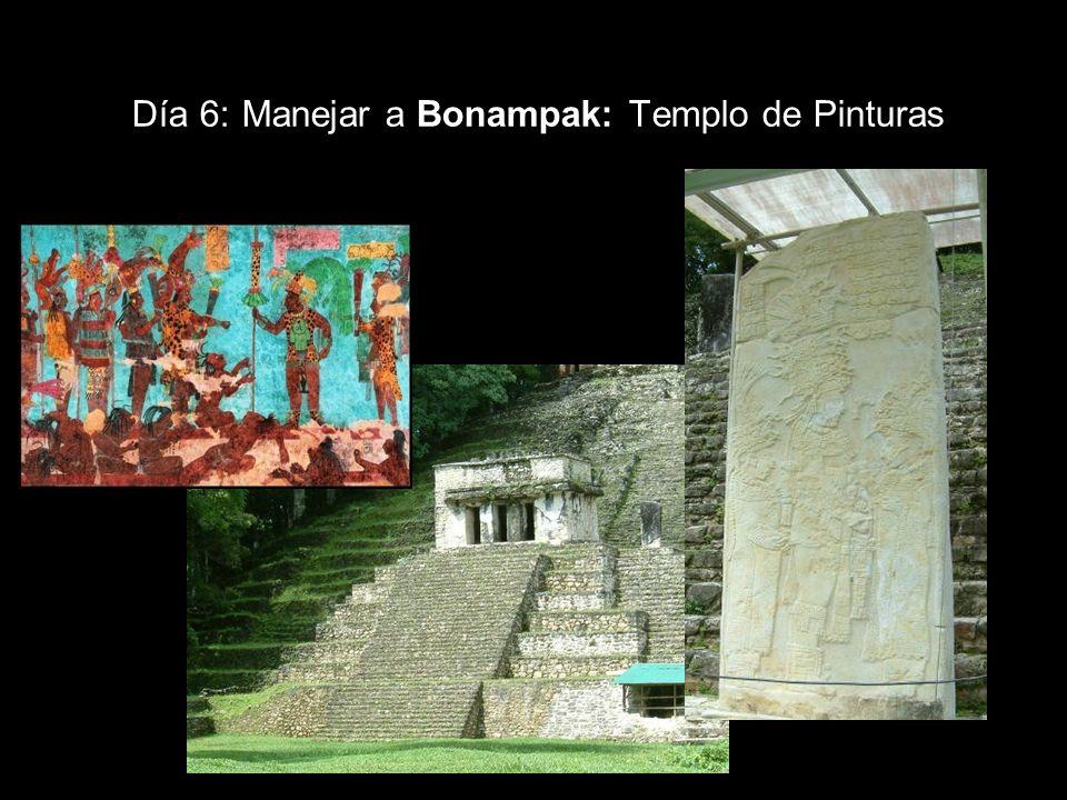 Día 6: Manejar a Bonampak: Templo de Pinturas