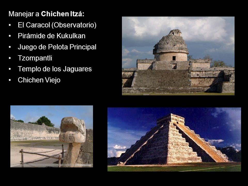 Manejar a Chichen Itzá: