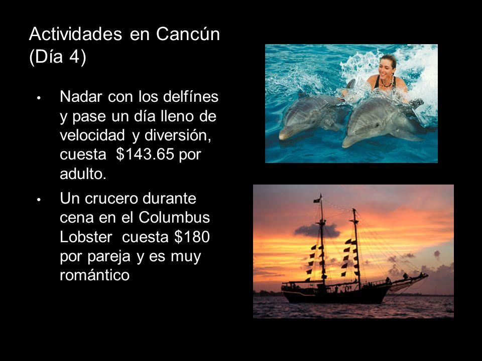 Actividades en Cancún (Día 4)