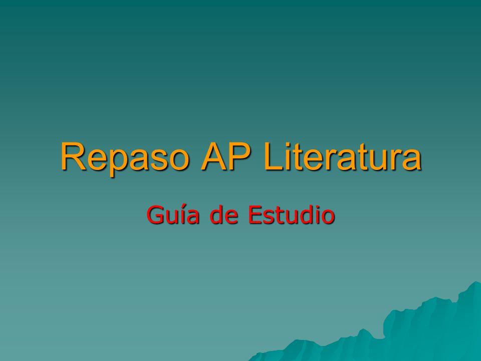 Repaso AP Literatura Guía de Estudio. - ppt video online descargar