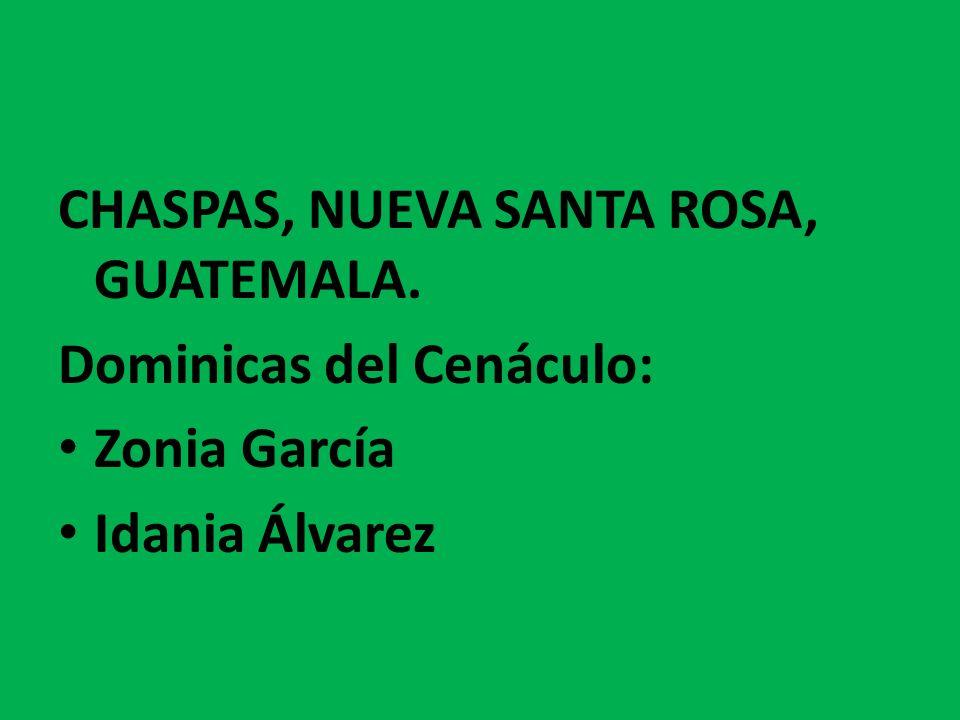 CHASPAS, NUEVA SANTA ROSA, GUATEMALA.