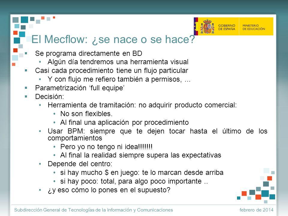 El Mecflow: ¿se nace o se hace