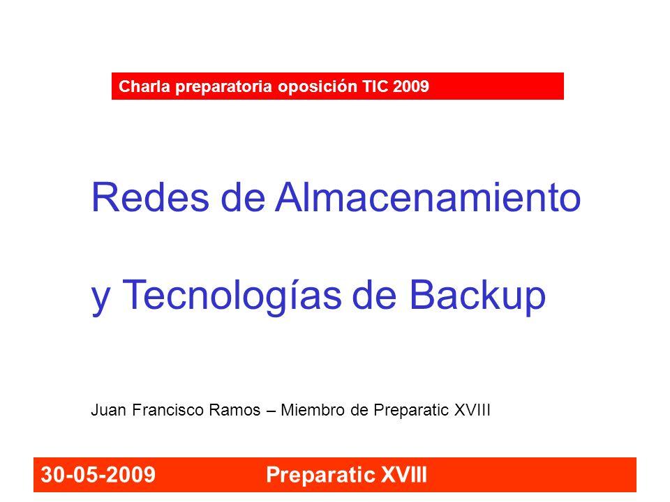 Redes de Almacenamiento y Tecnologías de Backup