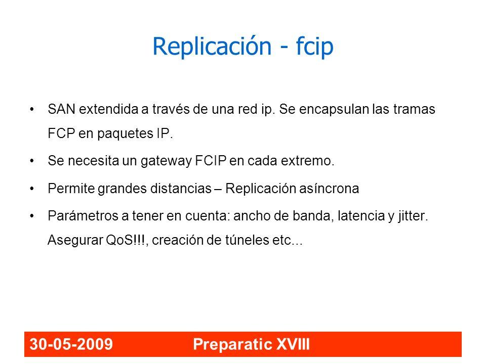 Replicación - fcip 30-05-2009 Preparatic XVIII