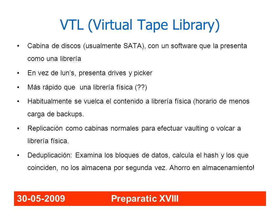 VTL (Virtual Tape Library)