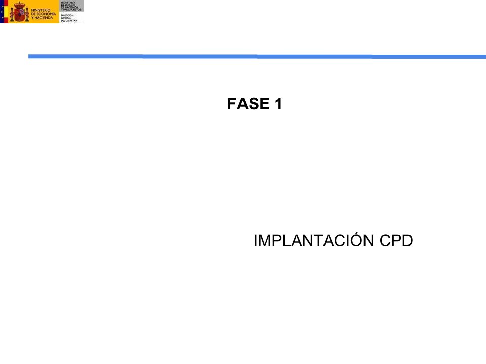 FASE 1 IMPLANTACIÓN CPD 14